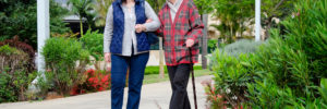 elder gets companionship non-medical home care service